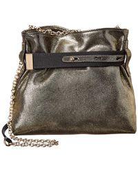 f66c2f705e62 Lanvin - V Small Leather Shoulder Bag - Lyst