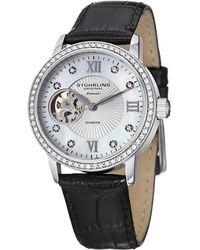Stuhrling Original - Women's Memoire Diamond Watch - Lyst