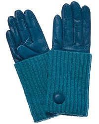 Portolano - Bay Cashmere-lined Leather Gloves - Lyst