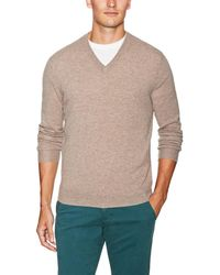 Barrow & Grove - Cashmere V-neck Sweater - Lyst