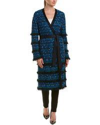 St. John - Wool-blend Coat - Lyst