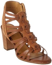 Jack Rogers - Hadley Leather & Suede Sandal - Lyst