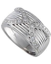 Damiani - 18k 0.32 Ct. Tw. Diamond Ring - Lyst