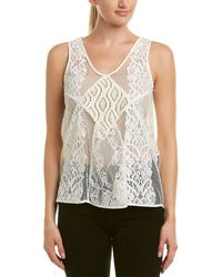 Maje - Lace Top - Lyst