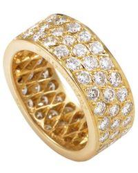 Heritage Van Cleef & Arpels - Van Cleef & Arpels 18k 2.93 Ct. Tw. Diamond Ring - Lyst