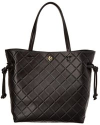 Tory Burch - Georgia Slouchy Leather Tote - Lyst