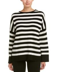 The Kooples | Striped Cashmere Sweater | Lyst