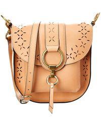 Frye - Ilana Perf Leather Saddle Bag - Lyst