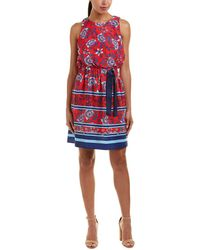 Eliza J - Floral Fit And Flare Dress - Lyst