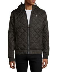 G-Star RAW - Meefic Quilted Overshirt Jacket - Lyst
