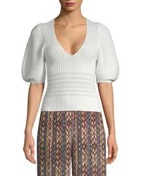 Torn By Ronny Kobo - Puffy Sleeve Jumper - Lyst