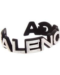 Balenciaga - Badge Bracelet - Lyst