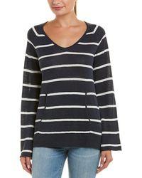 Chaser - Bell-sleeve Linen Pullover - Lyst
