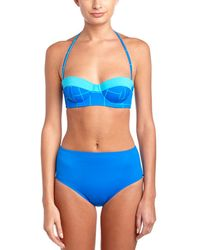 Spanx - ? Mid Waist Swim Bottom - Lyst