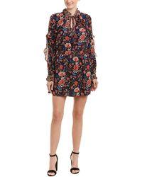 Dance & Marvel - Floral Mini Dress - Lyst