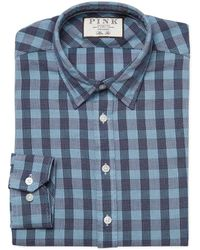 Thomas Pink - Austin Chequered Dress Shirt - Lyst