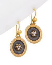 Gurhan - Pandora's Box 24k & Silver 0.15 Ct. Tw. Diamond Drop Earrings - Lyst