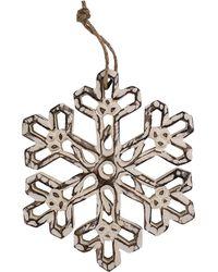 Cf - Snowflake Ornament - Lyst