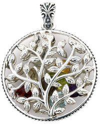 Samuel B. - Silver 4.32 Ct. Tw. Gemstone Pendant - Lyst