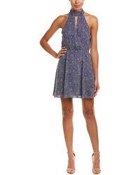 Parker - Surplice A-line Dress - Lyst