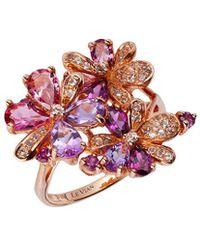 Le Vian - ® 14k Rose Gold 2.75 Ct. Tw. Gemstone Ring - Lyst