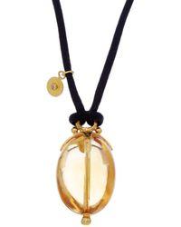 Gurhan | Balloon 24k & Silk 68.70 Ct. Citrine Necklace | Lyst