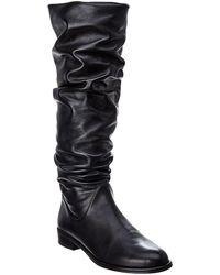 Stuart Weitzman - Flatscrunchy Leather Boot - Lyst