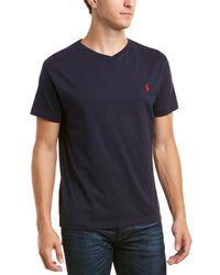 Ralph Lauren - Polo V-neck T-shirt - Lyst