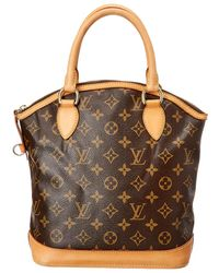Louis Vuitton Monogram Canvas Lockit Vertical