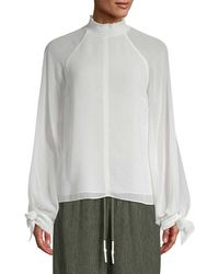 Camilla & Marc - Noelle Shirred Top - Lyst