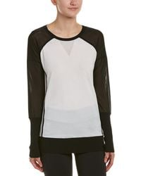 Blanc and Noir - Mesh Vent Jumper - Lyst