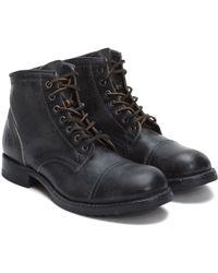 Frye - Logan Leather Boot - Lyst