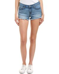 7 For All Mankind - 7 For All Mankind Bright Palms Cut Off Short - Lyst