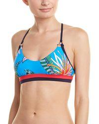 Trina Turk - Tahiti Tropical Bikini Top - Lyst