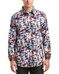 Robert Graham - Classic Fit Ramblewood Woven Shirt - Lyst