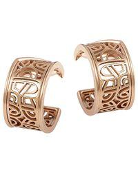 Poiray - 18k Rose Gold Drop Earrings - Lyst