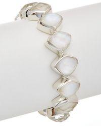 Stephen Dweck - Dusk Silver Gemstone, Mother-of-pearl, & Pearl Bracelet - Lyst