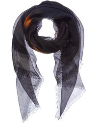 Givenchy - Rottweiler Cashmere & Silk-blend Scarf - Lyst