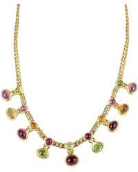 BVLGARI - Bulgari 18k Gemstone Necklace - Lyst