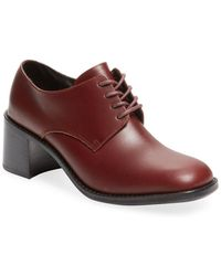 F-Troupe - Charlotte Leather Oxford - Lyst