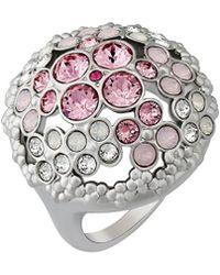 Swarovski - Crystal Cherie Plated Ring - Lyst