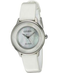 Citizen - Women's Circle Of Time Eco-drive Watch - Lyst