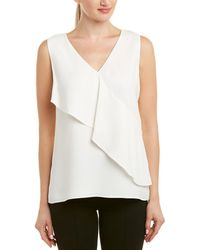 Lafayette 148 New York - Isabel Silk Blouse - Lyst