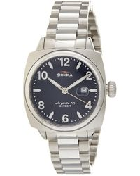 Shinola - Men's Brakeman Stainless Steel Watch - Lyst