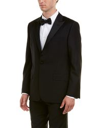 Hickey Freeman - 2pc Sterling Wool Tuxedo With Flat Pant - Lyst