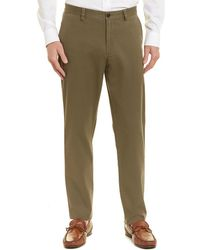 Brooks Brothers - Brushed Twill Pant - Lyst