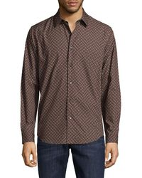 Theory - Printed Clean Shirt - Lyst