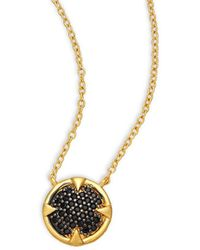Freida Rothman - Classic 14k Over Silver Necklace - Lyst