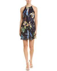 Parker - Geneva Silk-blend A-line Dress - Lyst