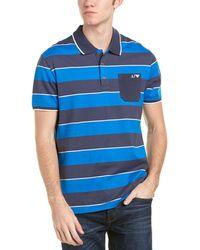 Armani Jeans - Striped Polo - Lyst
